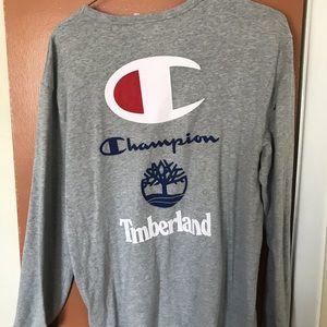 grey champion shirt